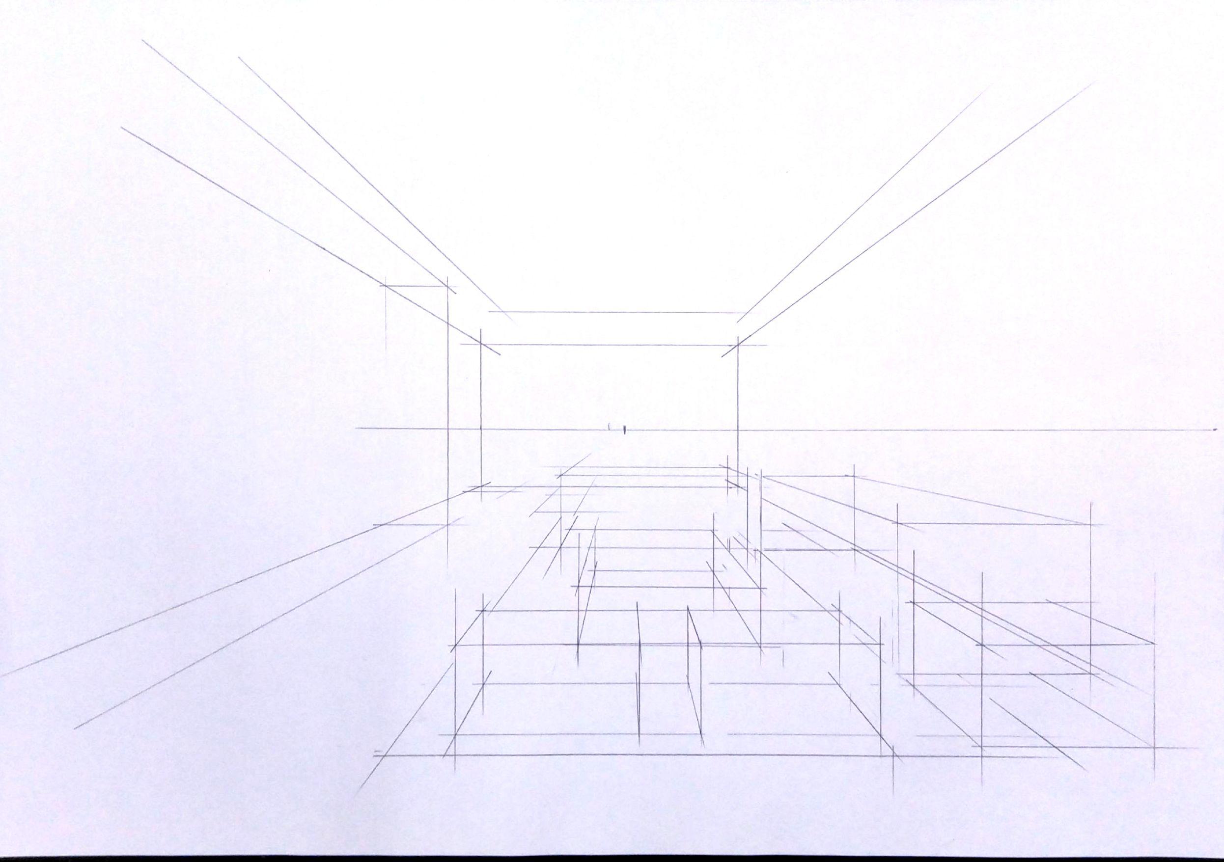 室内手绘效果图表现步骤示范