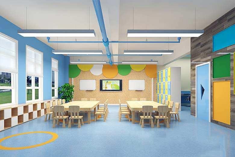 成都幼儿园设计|早教中心设计|德阳幼儿园装修设计sevendays设计师品牌店图片