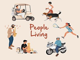People Living