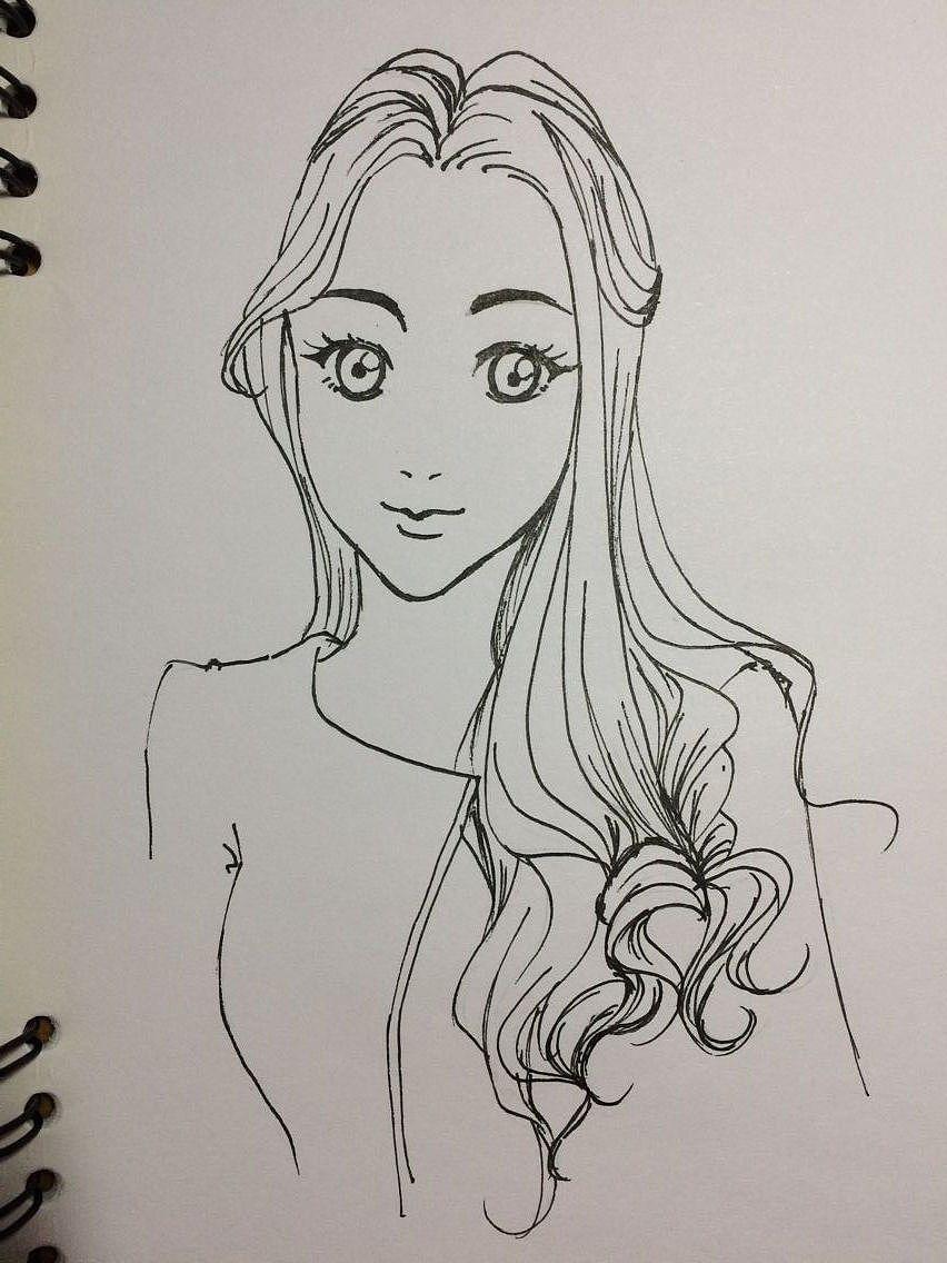 漫画人物|插画|插画习作|lian.yanyu - 原创作品