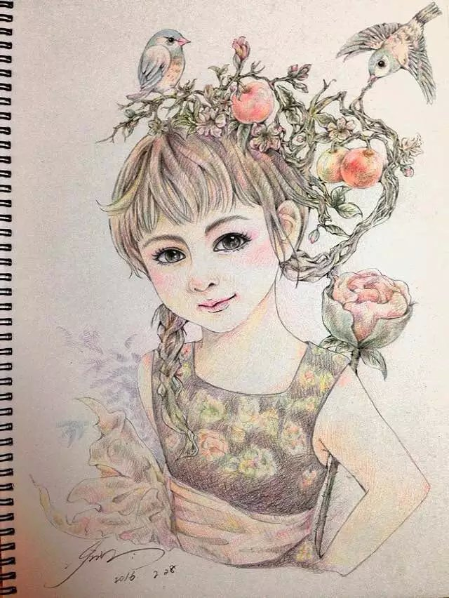 彩铅手绘|商业插画|插画|zkd12