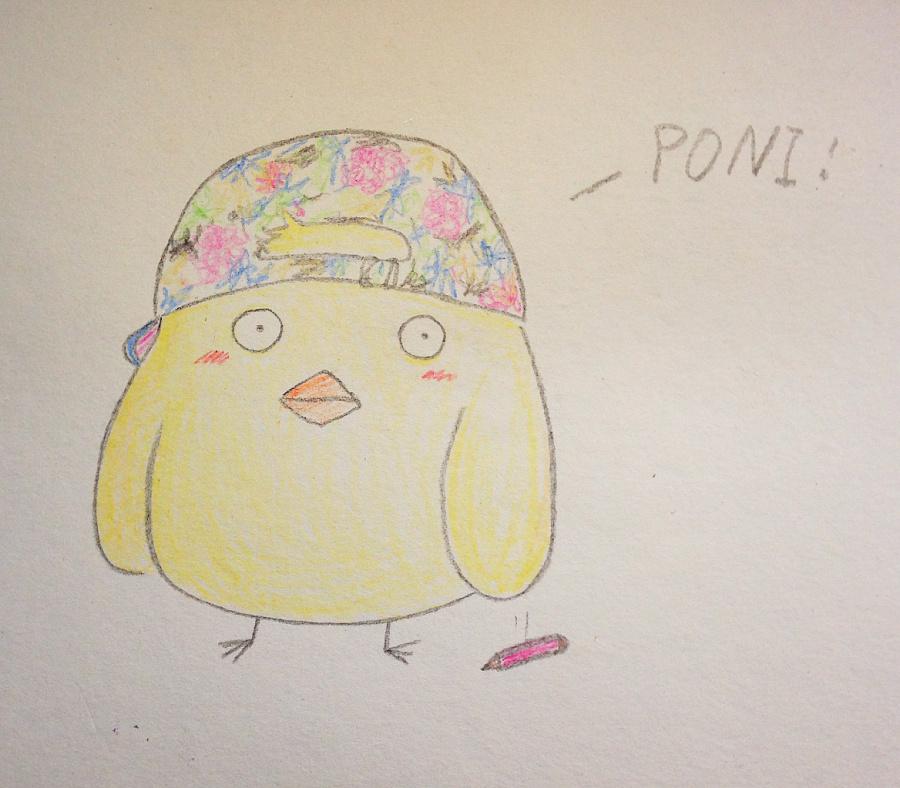 彩铅——小鸡