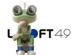 万科loft49IP形象设计——发条蛙