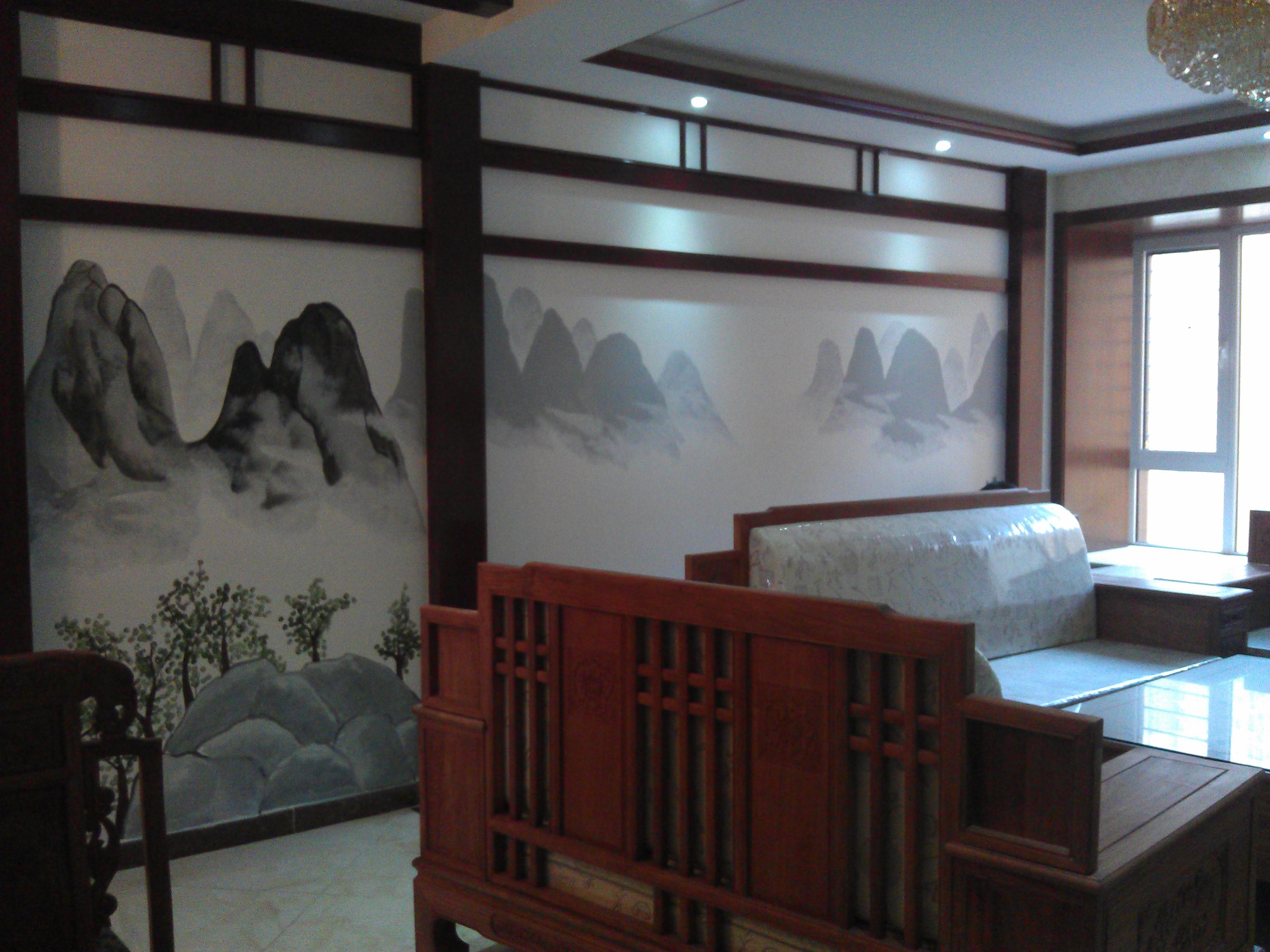 家居手绘墙画是手绘画的一种,是将传统的涂鸦从室外搬进了室内,让一种