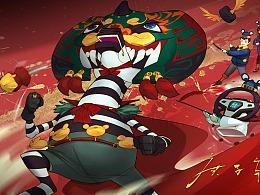 庚子年非你莫鼠,祝大家春节快乐