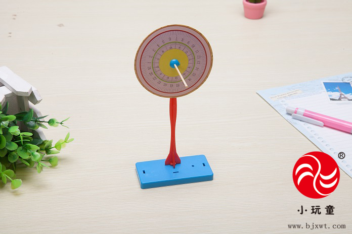 儿童科学实验玩具 科技小制作材料 物理教具小学小发明diy日晷日规
