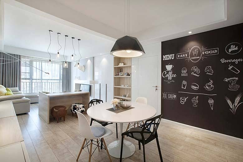 新乡80㎡北欧风单身公寓, 一个人的狂欢图片