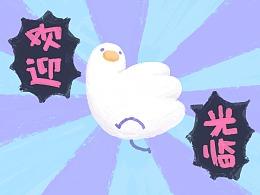 手撕鸡中的战斗鸡——和平鸽汉德的表情包