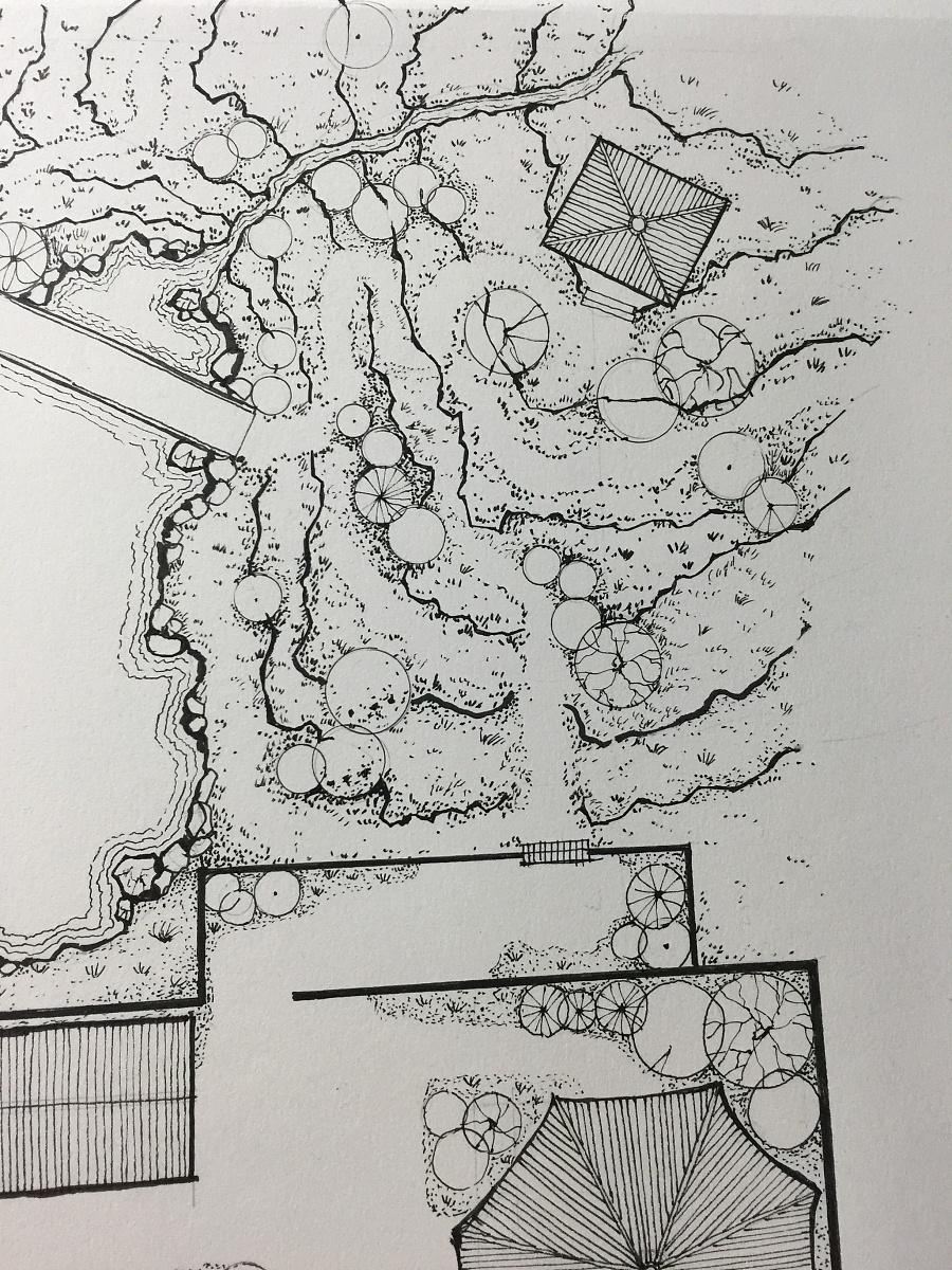 原创作品:古典园林设计