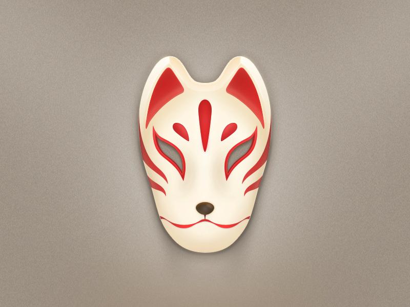 小狐狸面具