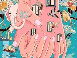 """Hands of love"" (爱之守护)| 曾亦心个展开幕"