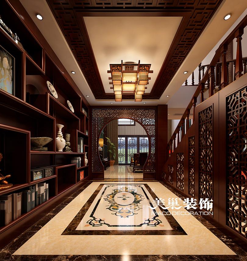 东方今典400平别墅所新中式运用案例|室装修广告设计与色彩内设图片