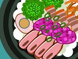 台湾美食 口碑海报图片