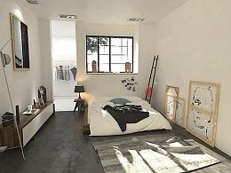 室内设计35期0基础刘同学的北欧极简风格作品