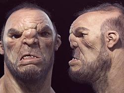 逼真写实角色《巨人》之极致皮肤毛发