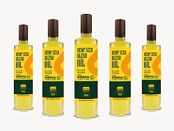 汉麻籽油   产品包装设计