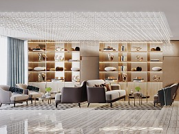 酒店空间设计表现