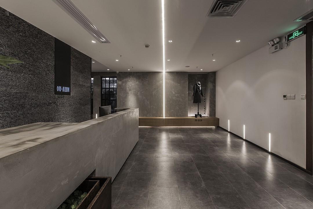 服装店|空间|室内设计|linajia - 原创作品 - 站酷