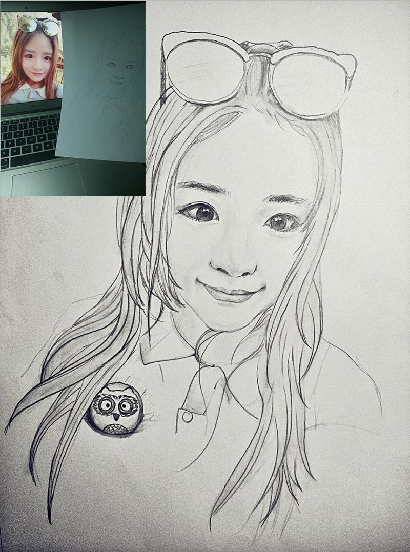 情侣素描铅笔画法_情侣素描铅笔画法分享展示