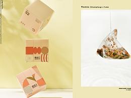 Brand design | YOUFUN Tea Bags 茶包品牌摄影
