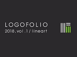 王先亮-LOGO研究所-1月线性LOGO设计