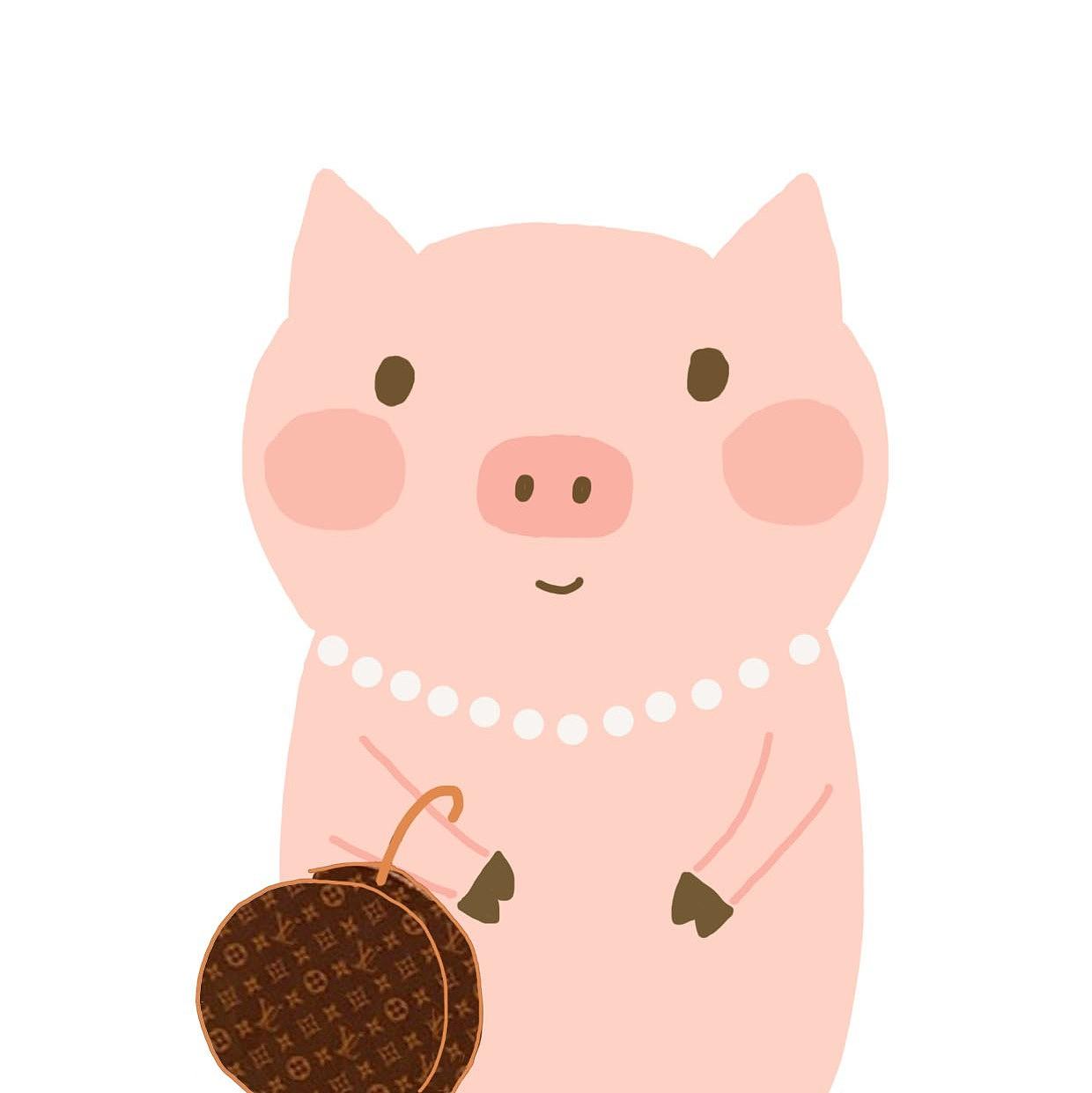 猪猪头像合辑