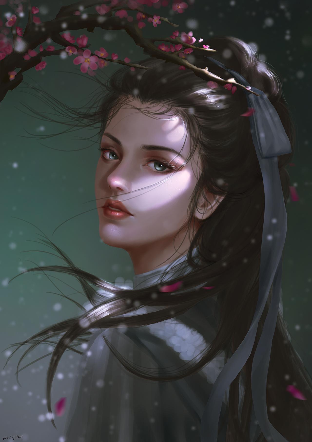 古风女剑客