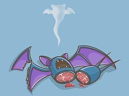 宠物小精灵生活创意插画-第三弹