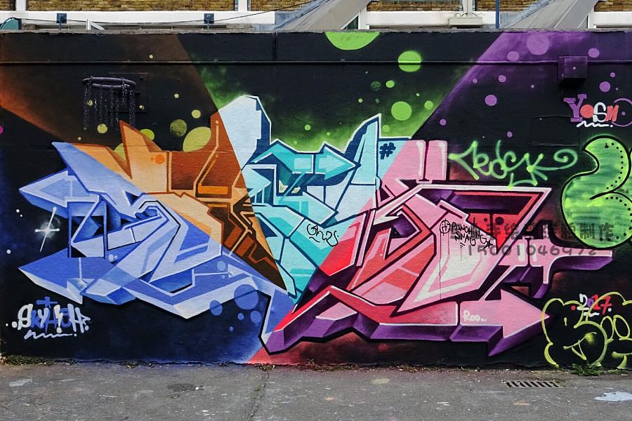 3d立体画 ,墙体彩绘,手绘墙,喷绘制作,墙绘,街头涂鸦整体设计及绘画.