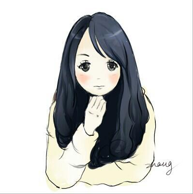 寒假手绘板画的单个人物|其他动漫|动漫|zhangtiansh