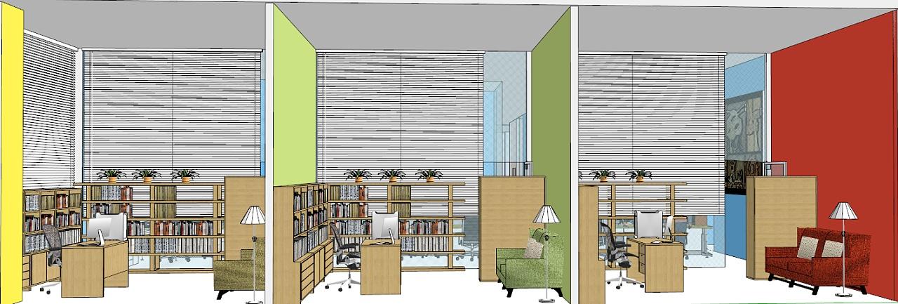 空间主页大囹�)�h�_办公空间设计作业