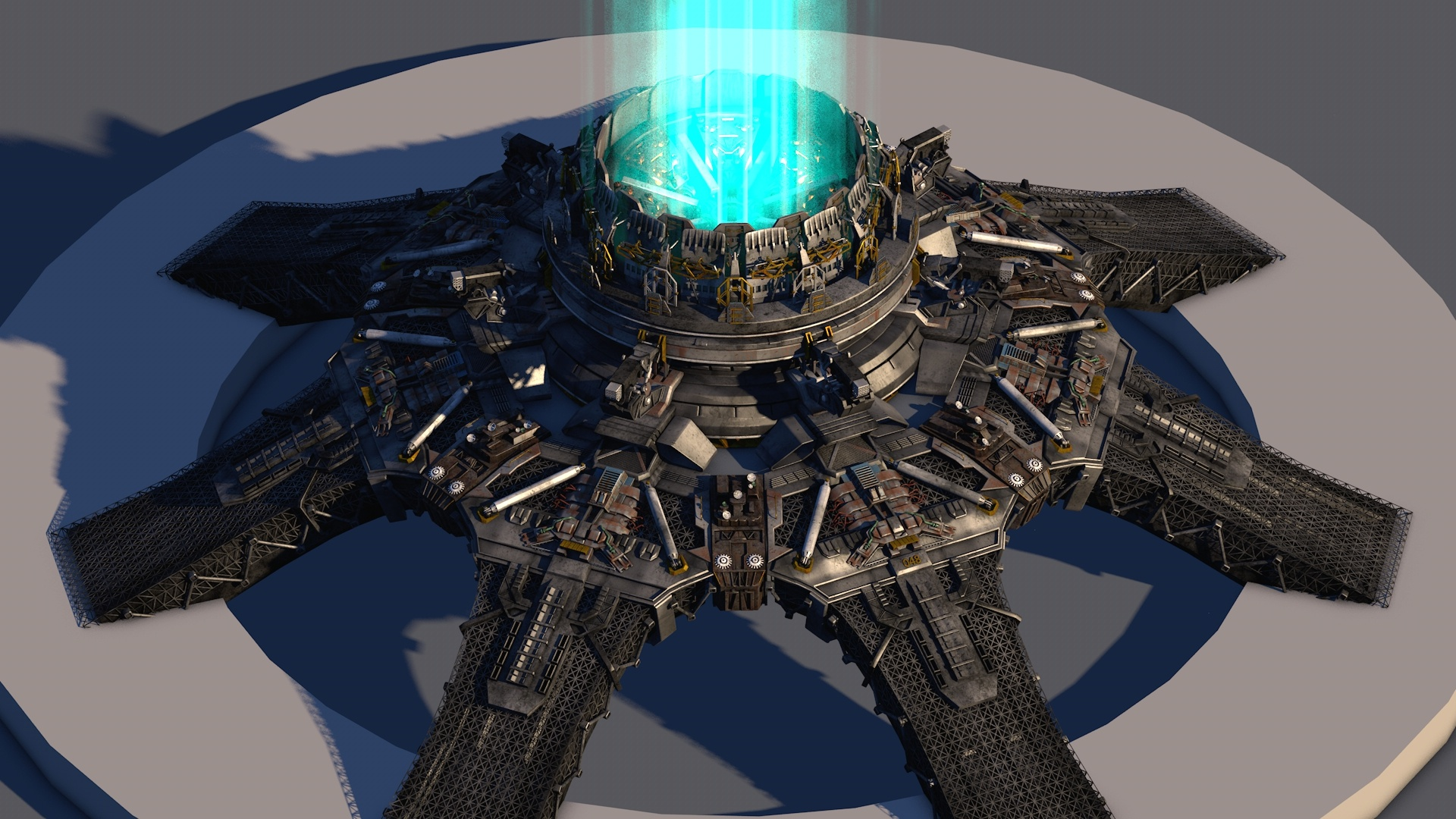 行星发动机 . 编号--048赤道转向发动机