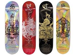 ~骑士精神~| 纹章 | 滑板 |
