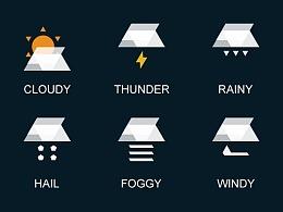 【品牌基因法】原创一套天气图标