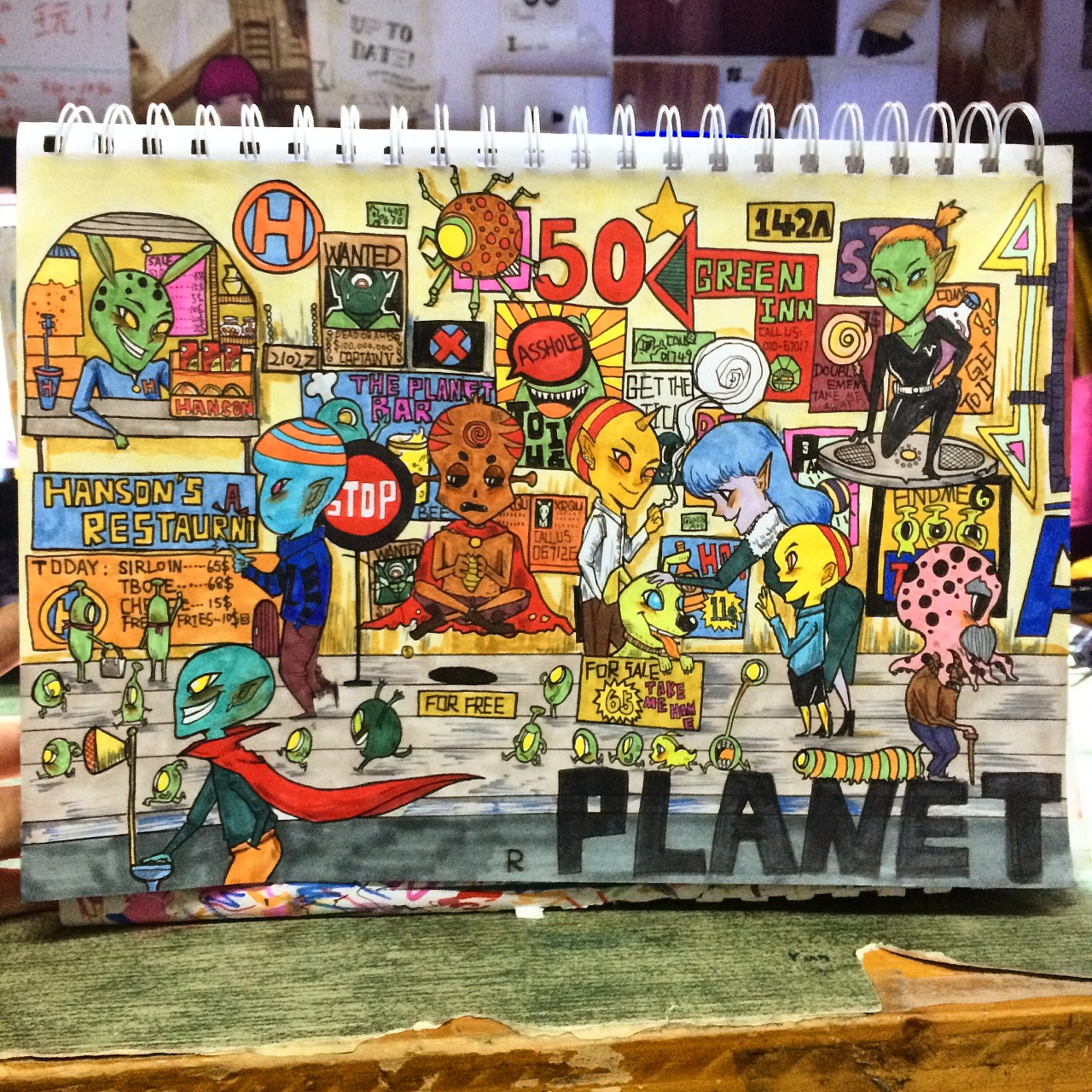 马克笔手绘练习|插画|商业插画|r_yh0 - 原创作品