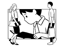 方所书店《Family Date》主题插漫