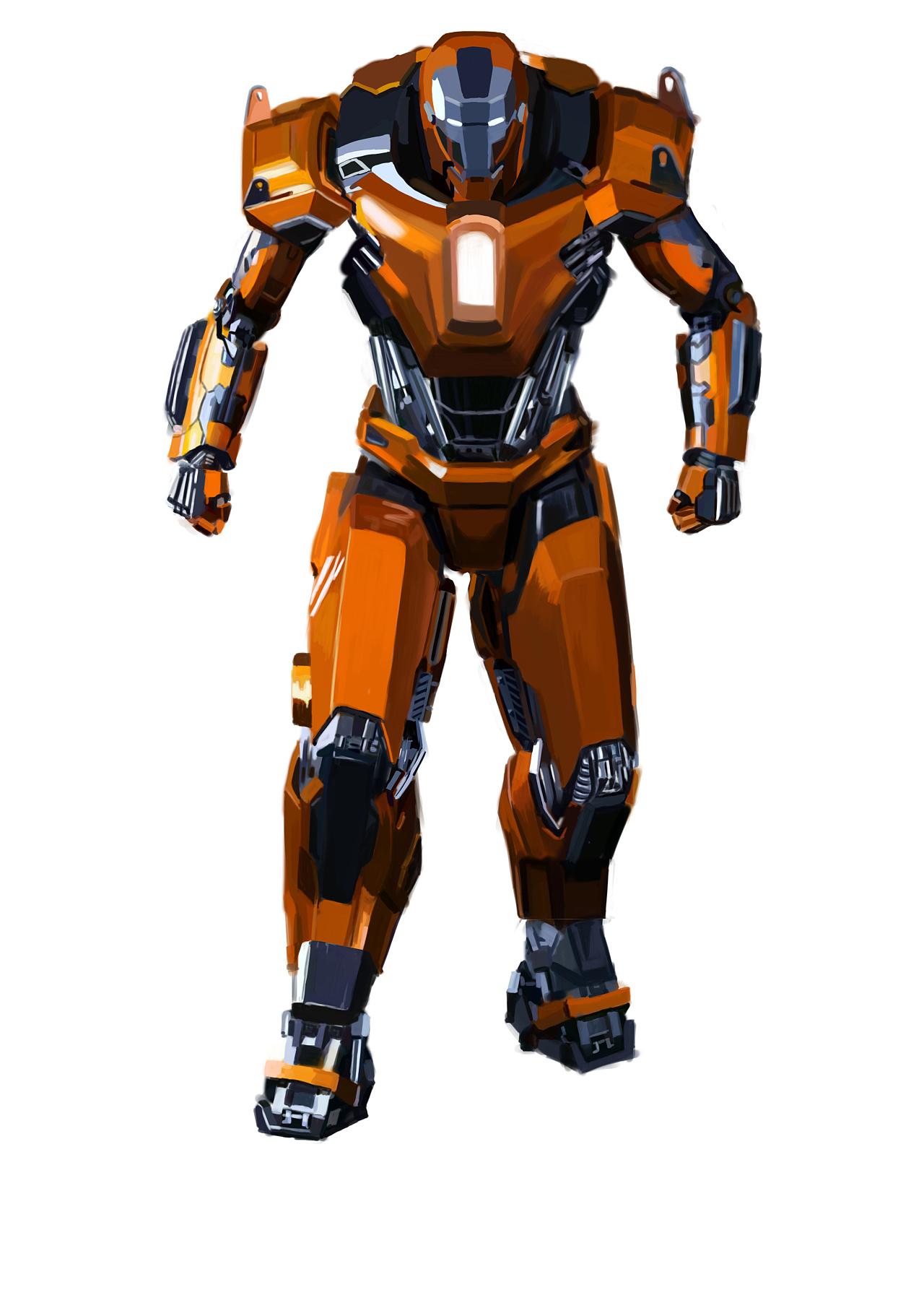 重型盔甲钢铁侠图片