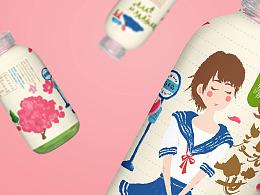 【奈美的情书】青汁品牌包装策划 X 张晓宁