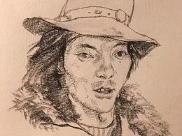藏族人民专题速写
