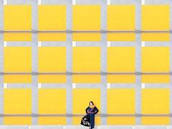 城市极简人像系列