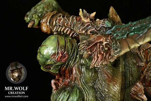 查看《作品 | Chelonian Warrior(暗夜之狼私人涂装定制作品)》原图,原图尺寸:600x400
