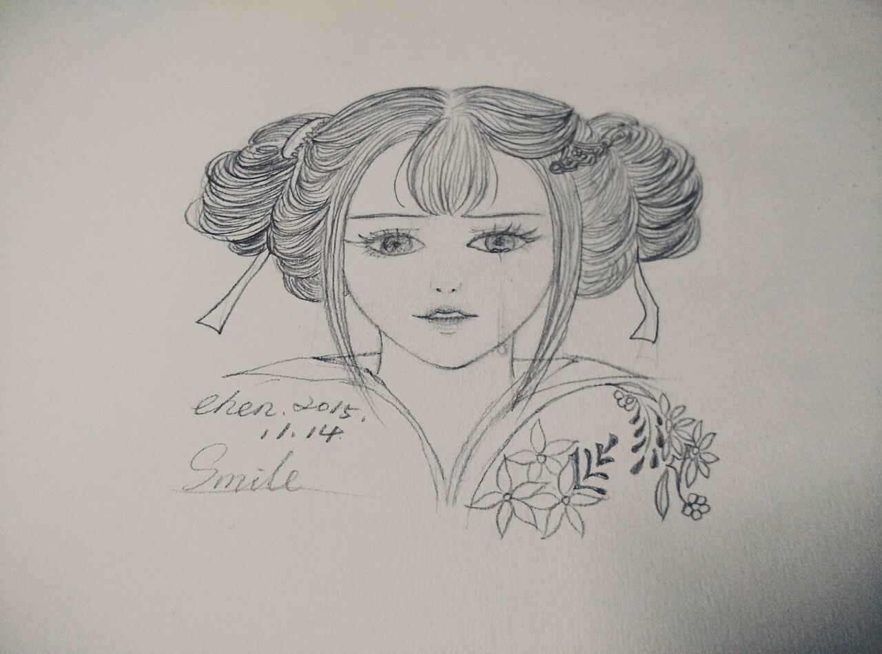 【原创】古风美女-练习
