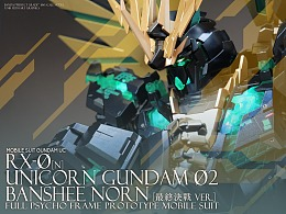 PG Unicorn Gundam独角兽2号机Banshee FB. No3507