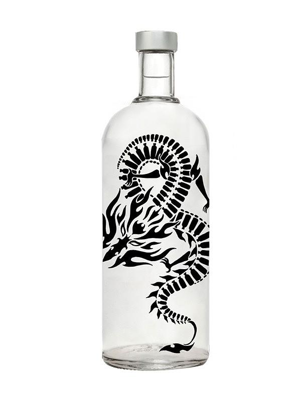 伏特加酒瓶包装设计
