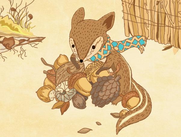 松树卡通图片