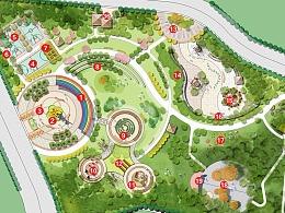 景观设计:《市级公园景观设计》
