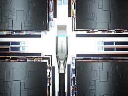 数据线科技风格主图视频