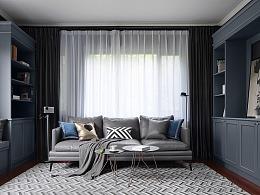 Charming Home 用灰色营造出一个简约、复古又高级的家
