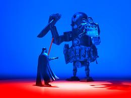 Darth Vader VS Bertie MK2