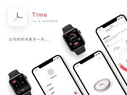 Time App iOS & watchOS